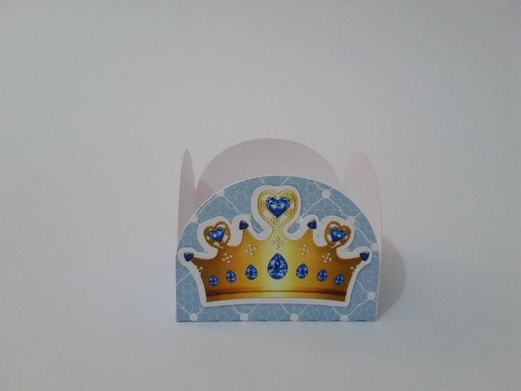 Forminha Ursinho Rei - modelo coroa | De Pronto | Elo7