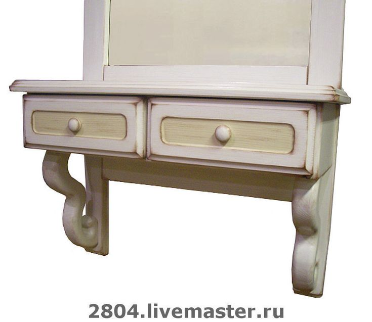 Купить Зеркало деревянное Пованс тоскана кантри ручной работы - мебель в стиле прованс