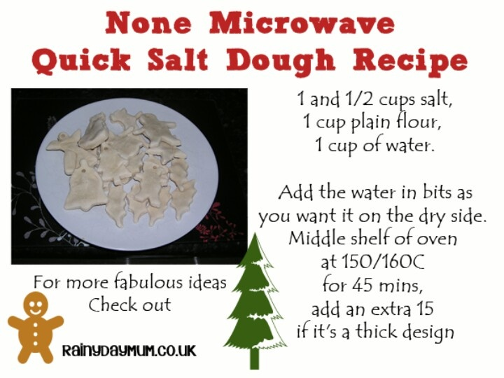 Easy salt dough recipe summer kids crafting ideas for Salt dough crafts figures