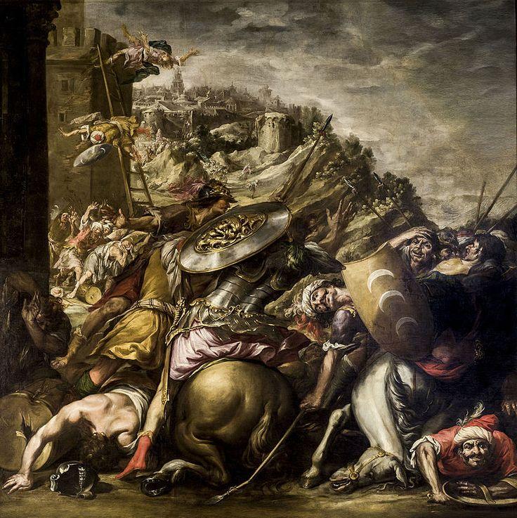 La derrota de los sarracenos,1653. Ayntamiento de Sevilla,Sevilla.