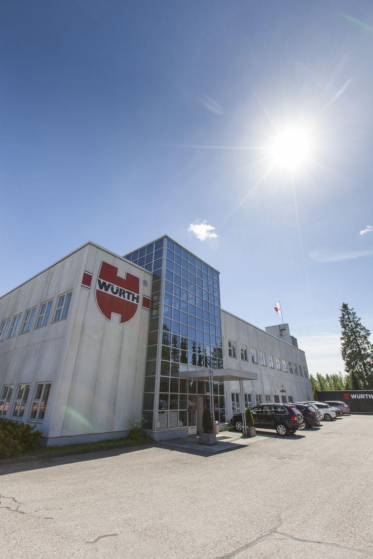 Würth, Riihimäki. Kuva: Tapio Aulu
