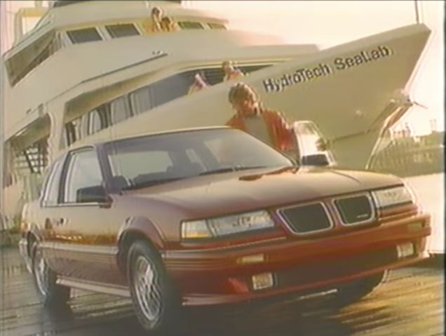 Turn To The 1989 Pontiac Grand Am For Hot Looks And High Performance
