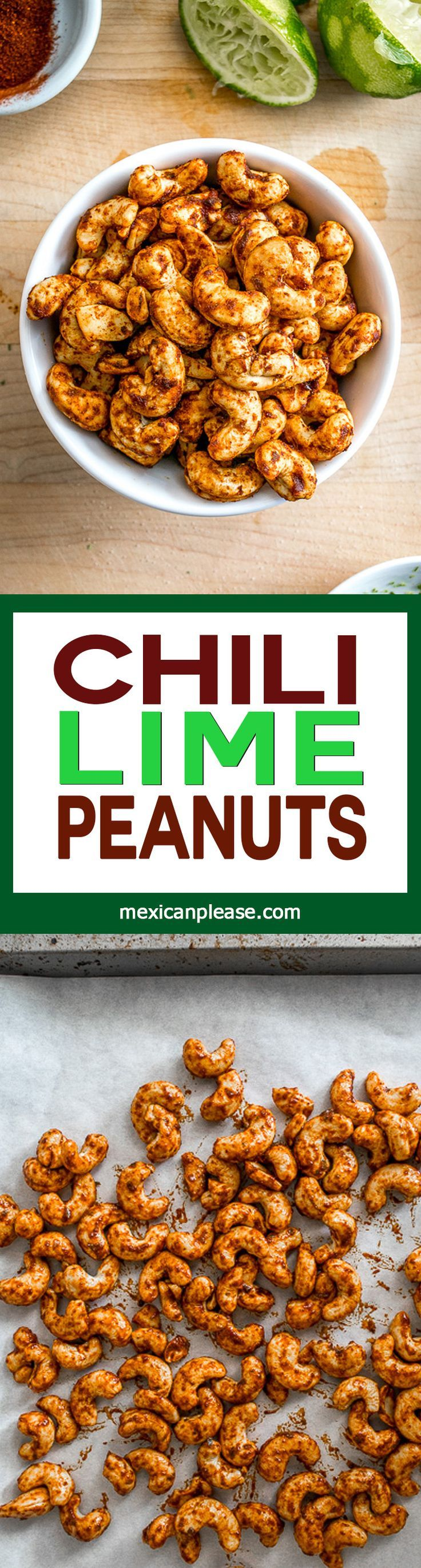 Chili-Lime Peanuts -- Cacahuates Enchilados | Recipe | Cayenne Peppers ...
