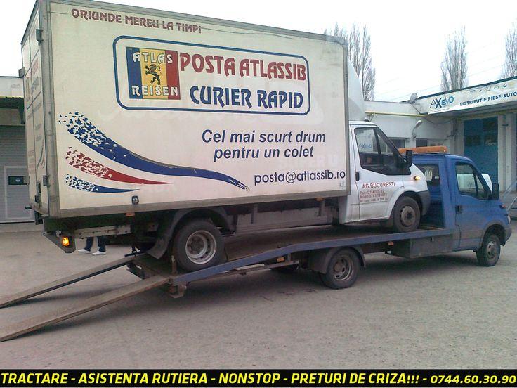 Firma specializata asigura NON STOP servicii de TRACTARI AUTO pe platforma, acoperire nationala si in statele uniunii  europene  la preturi de criza, sunati acum (+4) 0730.60.30.90