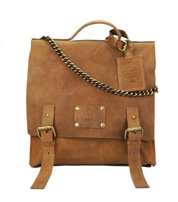 Frankie Fierce Eco Camel Bag - Leather - Trend Uncovet