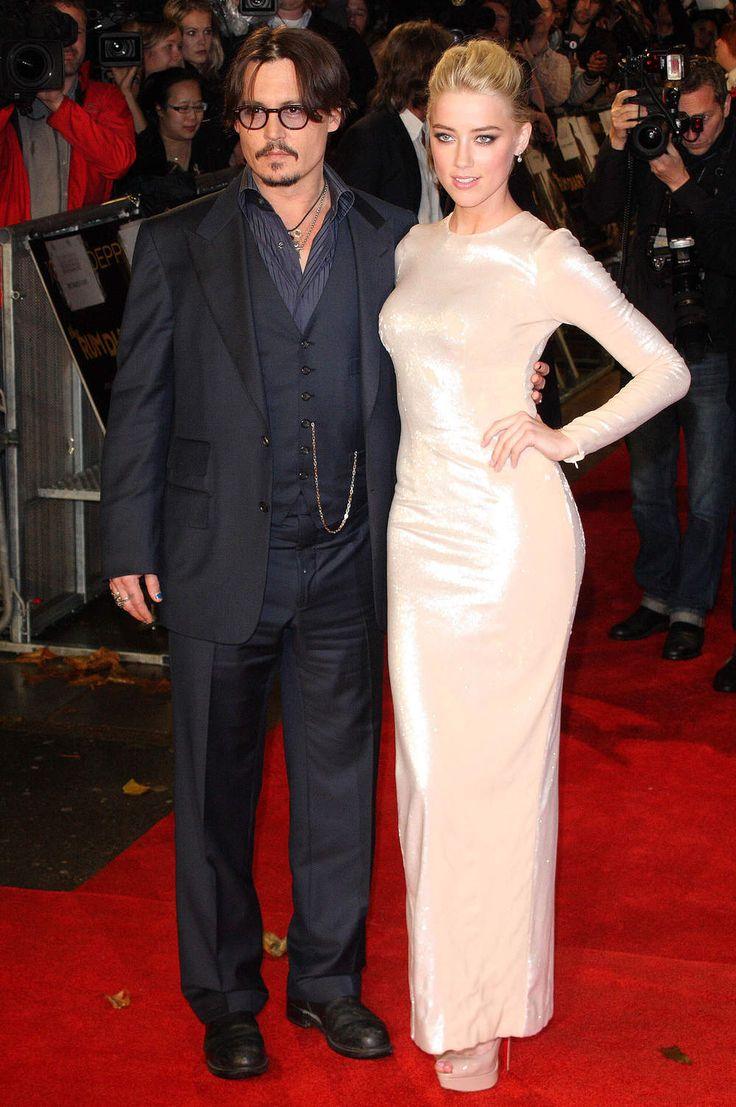 Johnny Depp et Amber Heard ont pu arpenter les tapis rouges ensemble du coup