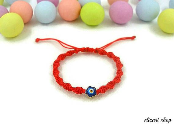 Evil eye baby bracelet keepsake bracelet toddler bracelet