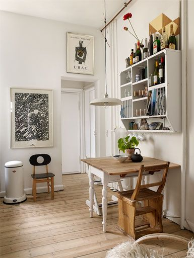 Home tour : Un appartement/showroom lumineux à Copenhague