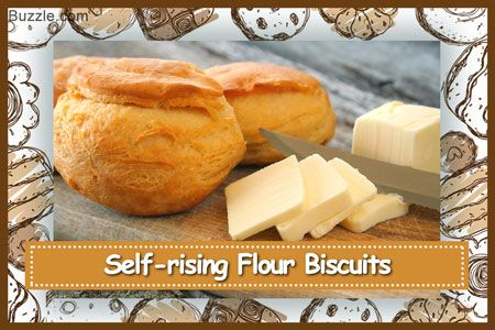 Self-rising flour biscuits