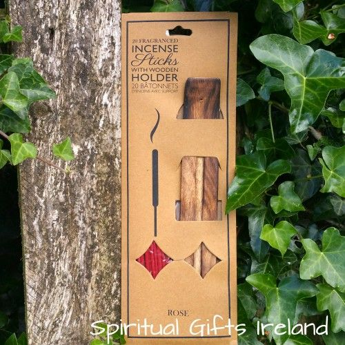 Rose Incense Visit our store at www.spiritualgiftsireland.com  Follow Spiritual Gifts Ireland on www.facebook.com/spiritualgiftsireland www.instagram.com/spiritualgiftsireland www.etsy.com/shop/spiritualgiftireland	 We are also featured on Tumblr