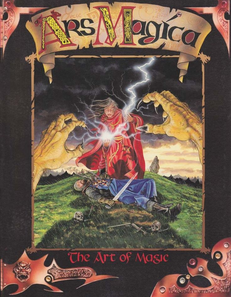 Ars Magica Third Edition Core Rulebook - Atlas Games   DriveThruRPG.com