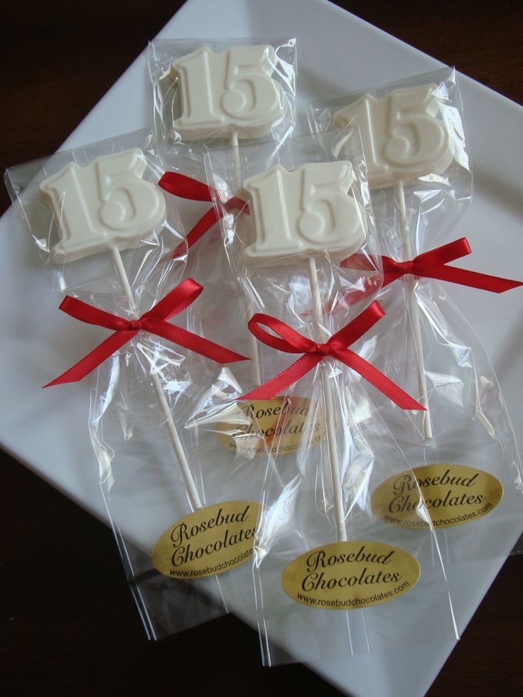 Best 25 Modern Bungalow Exterior Ideas On Pinterest: White Chocolate #15 Lollipops... Quinceanera Party Ideas