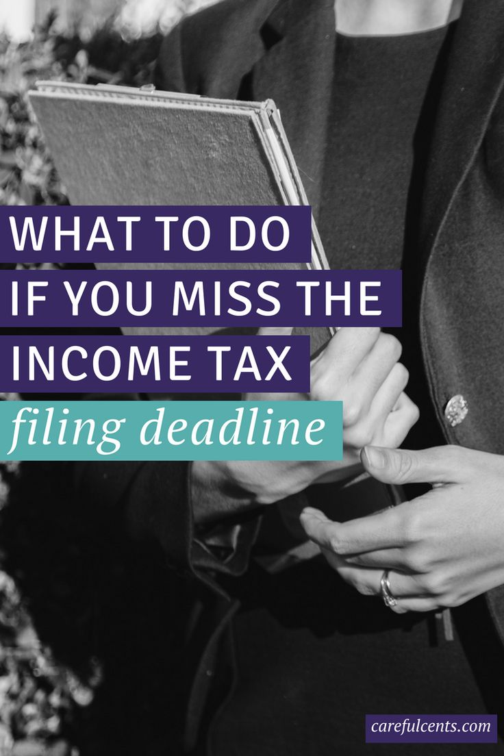 Miss the tax filing deadline? Here's what you need to do right now.
