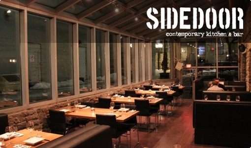 Sidedoor in Ottawa: Great tapas restaurant. Known for their tacos which are delish. Had a great Lychee Mojito and I want to try their mini donuts!