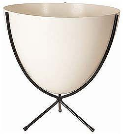 Bullet Planter from DWR - so mid-century cool.Midcentury