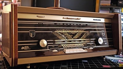 Philips B6X23A Tube Radio
