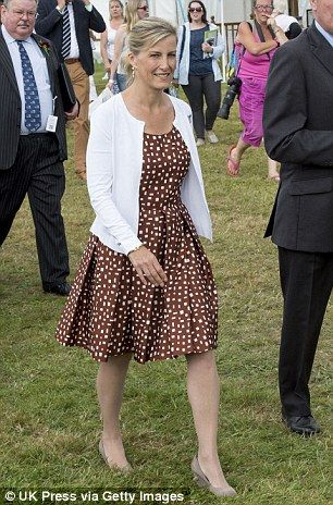 How the once frumpy Sophie Wessextransformed into the most gorgeous royal | Daily Mail Online