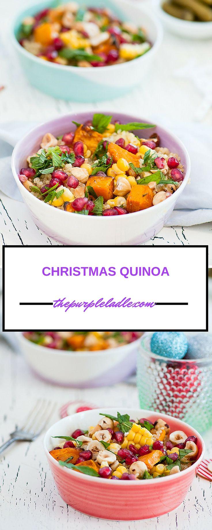 christmas quinoa quinoa meals quinoa salad easy cooking cooking food ...
