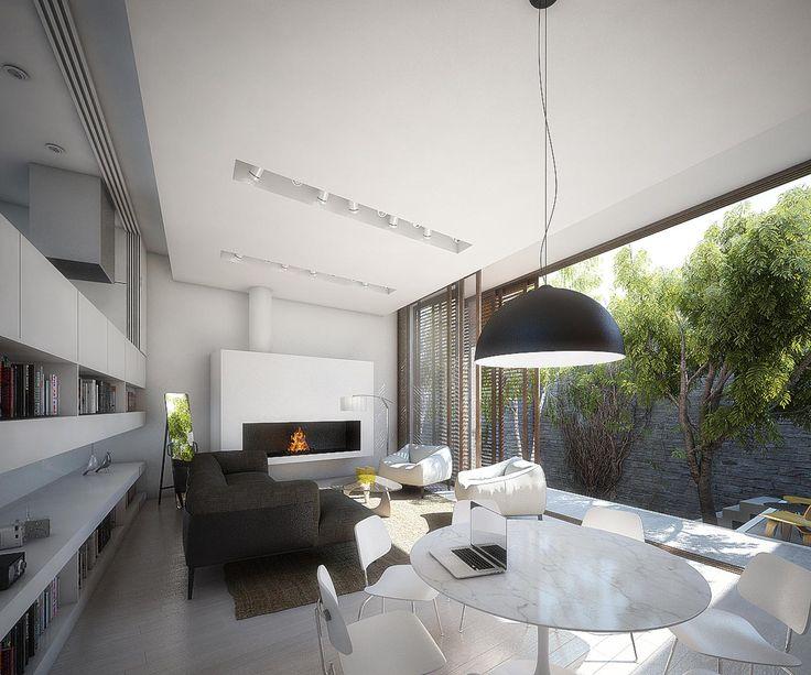 M s de 25 ideas incre bles sobre casas residenciales en for Arquitectura minimalista edificios