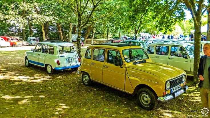 Renault 4L à l'Autobrocante Festival de Lohéac #MoteuràSouvenirs Reportage : http://newsdanciennes.com/2016/10/05/autobrocante-festival-loheac-bretagne-amoureux-dautos/