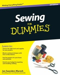 Sewing for Dummies #sewing