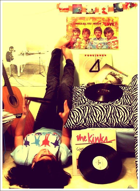 m.The Beatles, La La La, La Musica, Creative Music, Art Prints, Vinyls Junkie, Listening, Brows Deviantart, Vinyls Lounges