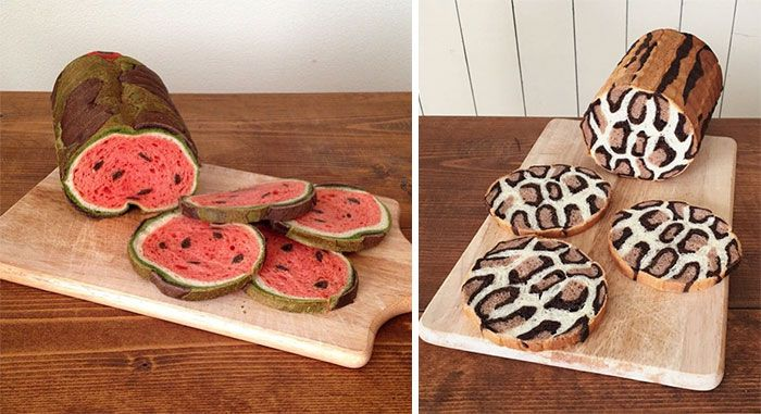 Japanese Mom Bakes Awesome Bread Inspired By Her Kid's Drawings And Nature ------- www.BoredPanda.com