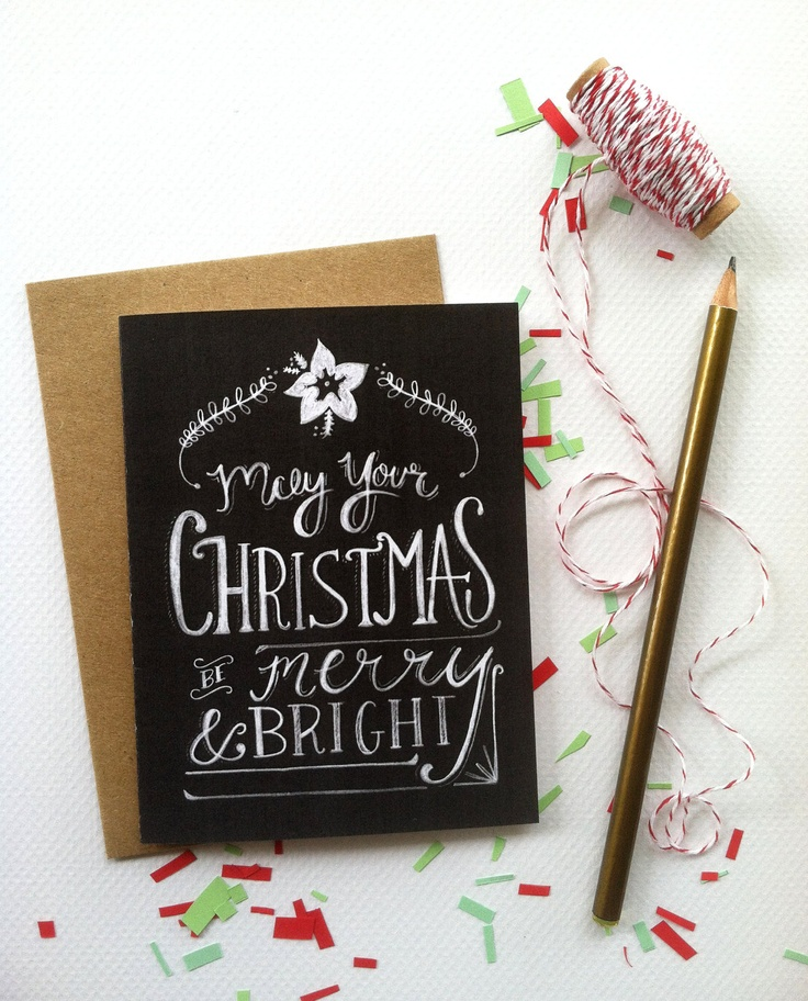 43 best Christmas Type images on Pinterest August 31, Boxes and - blank xmas cards