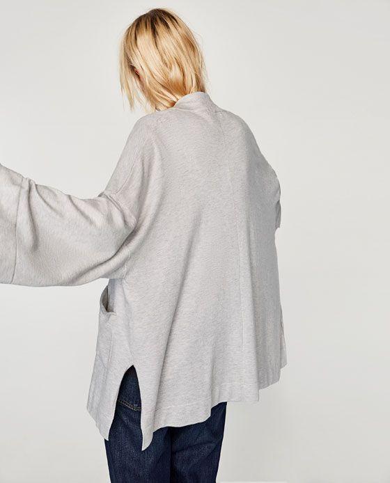 Image 6 of KIMONO STYLE BLAZER from Zara