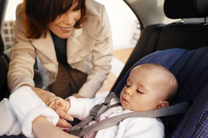 Simple car seat safety principles.