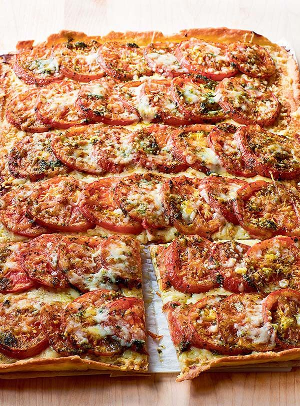 Anna's Tomato Tart--Ina Garten, from Anna Pump of Loaves & Fishes and Cooking for Jeffrey