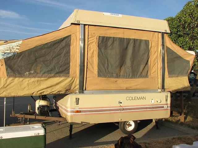 best ideas about coleman tent trailers cool coleman popup tent trailer