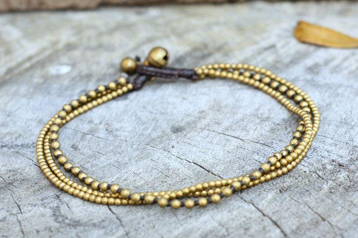 Mix Brass Chain Anklet by brasslady on Etsy https://www.etsy.com/listing/90845187/mix-brass-chain-anklet