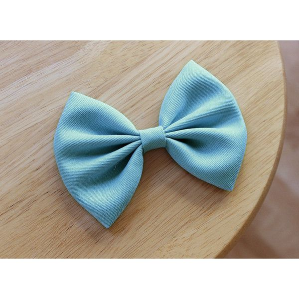"""4.5"""" powder blue hair bow, pastel blue hair bow, light blue hair bow,... ($4.49) ❤ liked on Polyvore featuring accessories, hair accessories, hair clip accessories, blue hair clip, hair bows, barrette hair clips and alligator hair clips"""