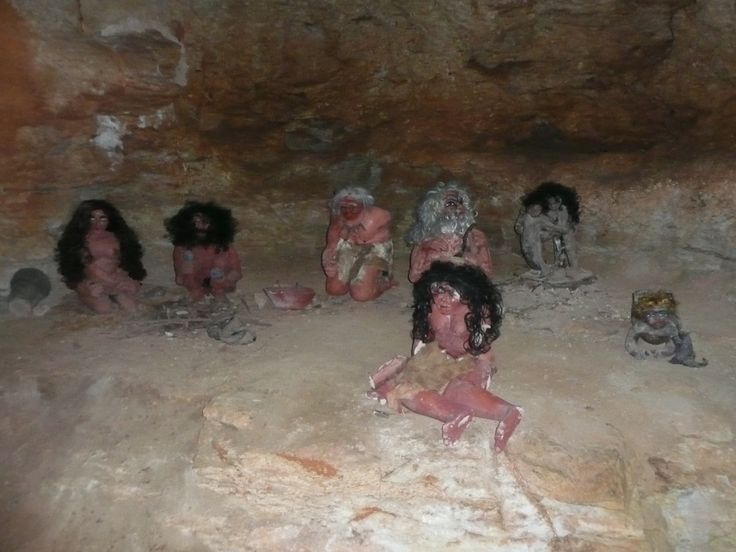 Deze beelden treft u in de Cueva de las Calaveras.