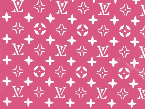 White Louis Vuitton Wallpaper