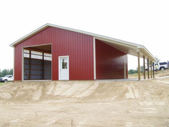 29 best new barn ideas images on pinterest pole barns for 30x40 shop with loft