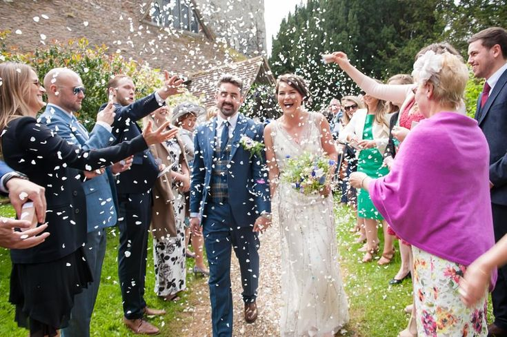 confetti at Preston Court wedding | St Mildreds church wedding #PrestonCourt (scheduled via http://www.tailwindapp.com?utm_source=pinterest&utm_medium=twpin)