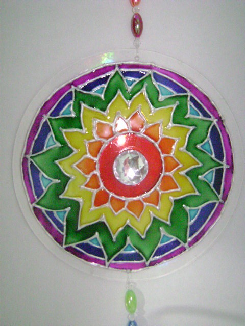 Mandala em cd 1 reuse recycle reduce pinterest ems for Cuadros mandalas feng shui decoracion mandalas