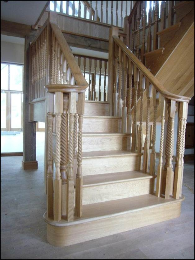 Elegant Bespoke Oak Staircase By NBJ London Ltd · Wooden StairsHouse ...