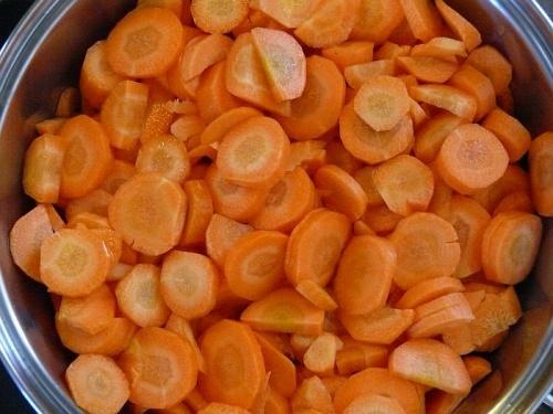 Zoete wortelen inmaken