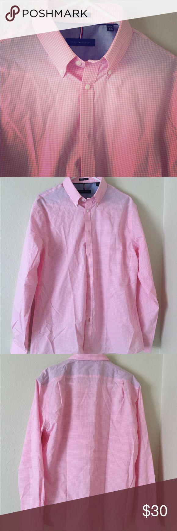 NWOT Tommy Hilfiger Slim Fit Dress Shirt NWOT. Perfect condition. 16.5, 34-35. ✅Bundle & save! Tommy Hilfiger Shirts Dress Shirts