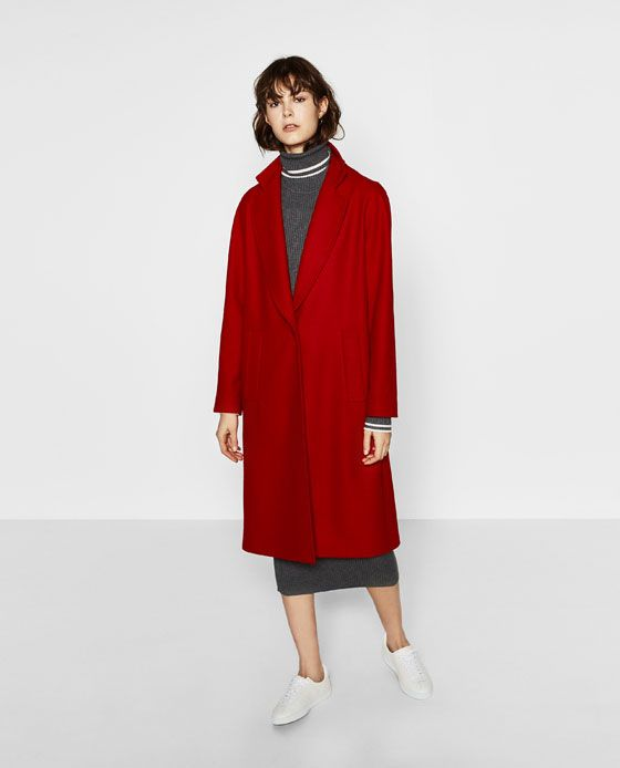 Image 1 of COAT WITH POCKETS from Zara $189