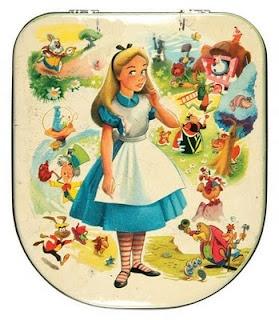 Alice in Wonderland vintage toffee tin from England ~ Edward Sharp & Sons, Ltd