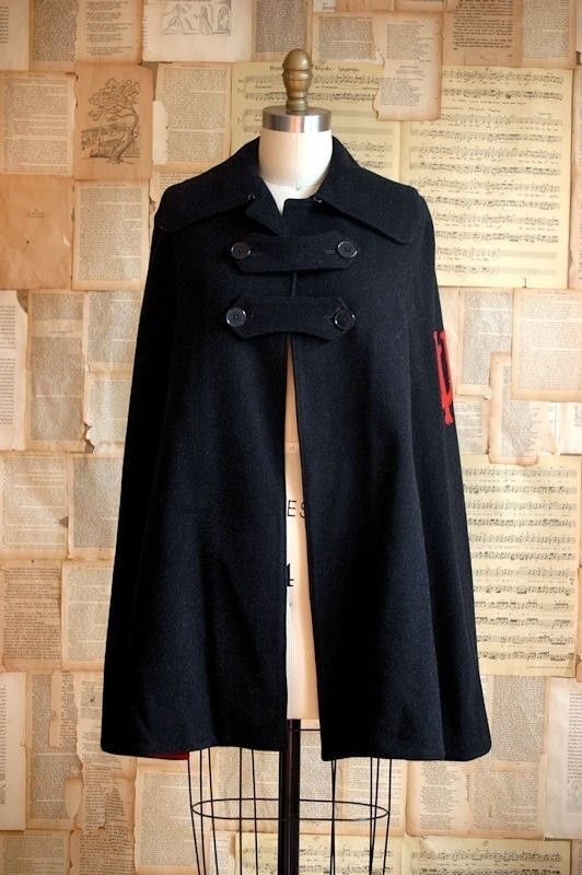 Dang it! I'm in the wrong era :( vintage nurse cape- I have always wanted one of these.