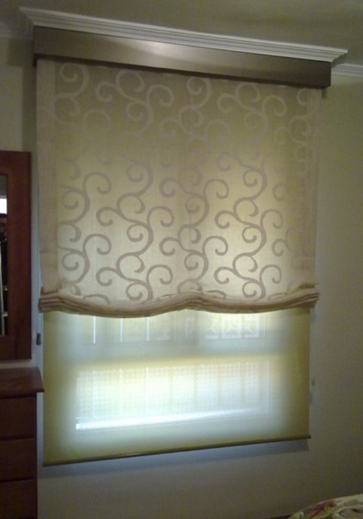 249 best images about cortinas on pinterest window - Estores con fotos ...