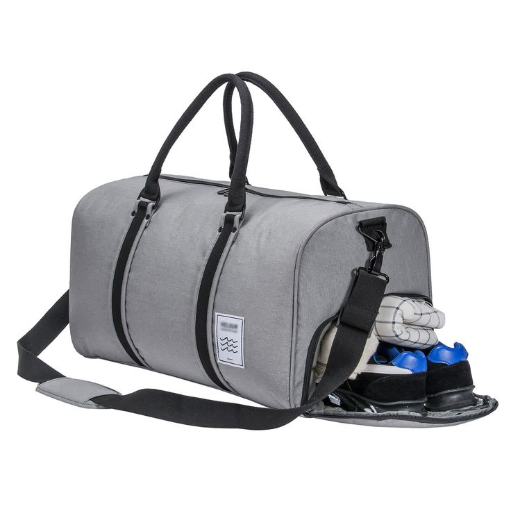 35dbf6092097 Gym Bag Duffle Bag Weekend Bag with Shoes Compartment