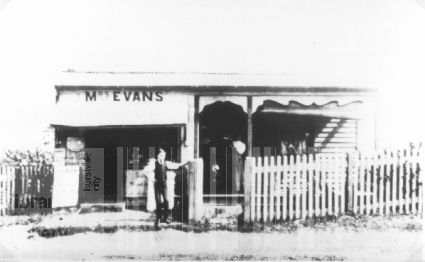 Mrs. Evans store and Post Office, Hurstville NSW 1908