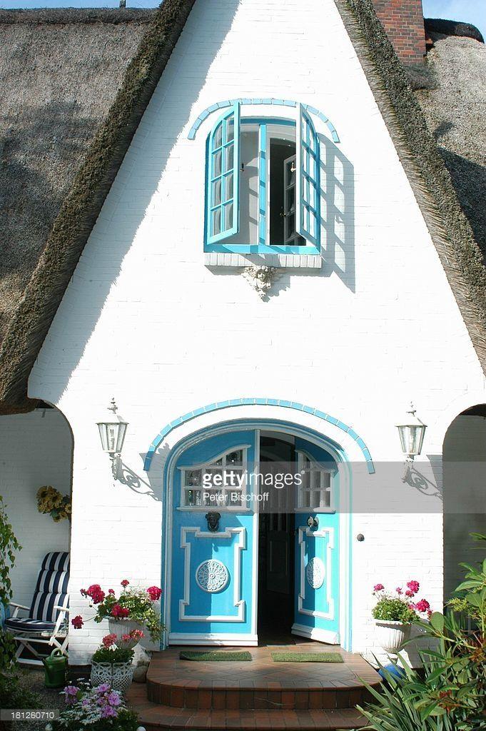 (Katja Ebstein, Homestory, Insel Amrum, , (Photo by Peter Bischoff/Getty Images))