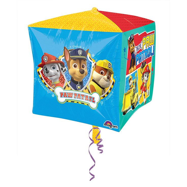 15 x 15-Inch Paw Patrol Cubes Foil Balloon - http://amzn.to/2t0PGue